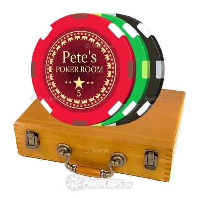Build Your Own Custom Poker Chips Set