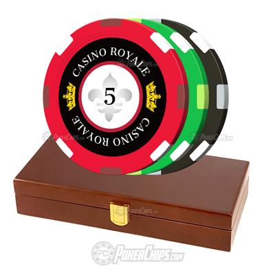 Casino Royale Custom Poker Chips Set