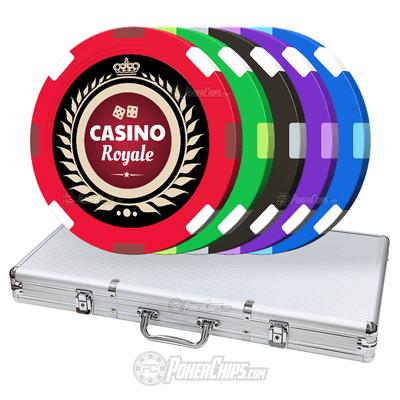 Crown Royal Custom Poker Chips Set