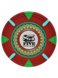 $5 Red - The Mint Clay Poker Chips