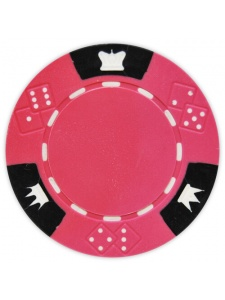 Brown - Crown & Dice Clay Poker Chips