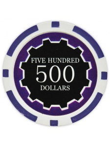 $500 Purple - Eclipse Clay Poker Chips