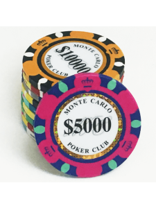Sample Pack - Monte Carlo Clay Poker Chips