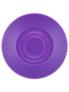 Purple - Radial Interlocking Plastic Poker Chips