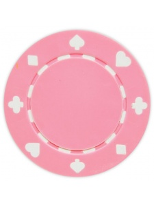 Brown - Suited Clay Poker Chips