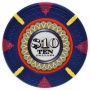 The Mint - $10 Blue Clay Poker Chips