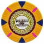 The Mint - $1000 Orange Clay Poker Chips