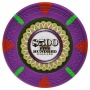 The Mint - $500 Purple Clay Poker Chips