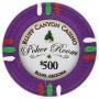 Bluff Canyon - $500 Purple Clay Poker Chips