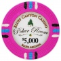 Bluff Canyon - $5000 Pink Clay Poker Chips