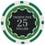 Eclipse - $25 Green Clay Poker Chips