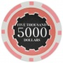 Eclipse - $5000 Pink Clay Poker Chips