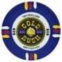 Gold Rush - $10 Blue Clay Poker Chips