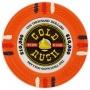 Gold Rush - $10000 Orange Clay Poker Chips