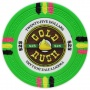 Gold Rush - $25 Green Clay Poker Chips