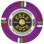 Gold Rush - $500 Purple Clay Poker Chips