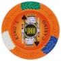 King's Casino - $10000 Orange Clay Poker Chips