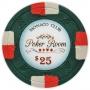 Monaco Club - $25 Green Clay Poker Chips