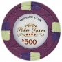 Monaco Club - $500 Purple Clay Poker Chips