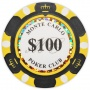 Monte Carlo - $100 Black Clay Poker Chips