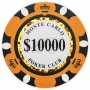 Monte Carlo - $10000 Orange Clay Poker Chips