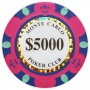 Monte Carlo - $5000 Pink Clay Poker Chips