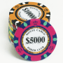 Monte Carlo Clay Poker Chips (Roll of 25)