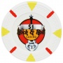 Rock & Roll - $1 White Clay Poker Chips