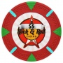 Rock & Roll - $5 Red Clay Poker Chips