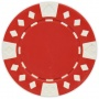 Diamond Suited - Red Clay Poker Chips