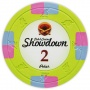 Showdown - $2 L. Green Poker Chips