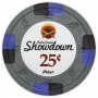 Showdown - 25¢ Gray Clay Poker Chips