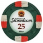 Showdown - $25 Green Clay Poker Chips