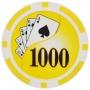 Yin Yang - $1000 Yellow Clay Poker Chips