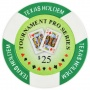 Tournament Pro - $25 Green Clay Poker Chips