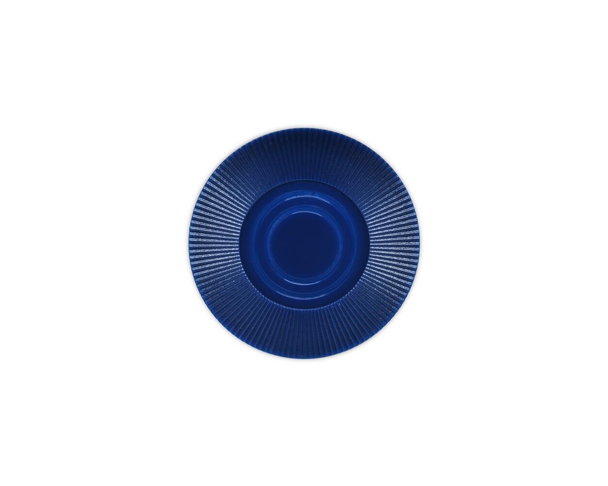Radial Interlocking - D. Blue Plastic Poker Chips