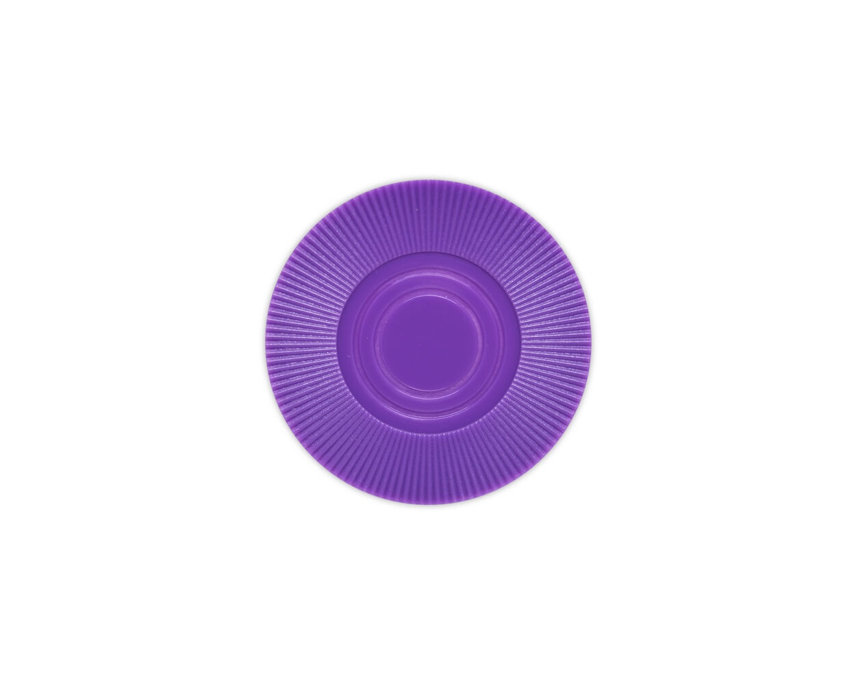 Radial Interlocking - Purple Plastic Poker Chips