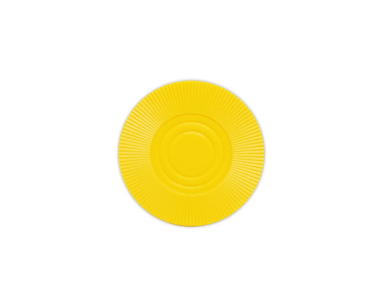 Radial Interlocking - Yellow Plastic Poker Chips