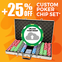 +25% Off Custom Poker Chip Set