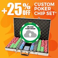 +25% Off Custom Poker Chip Set