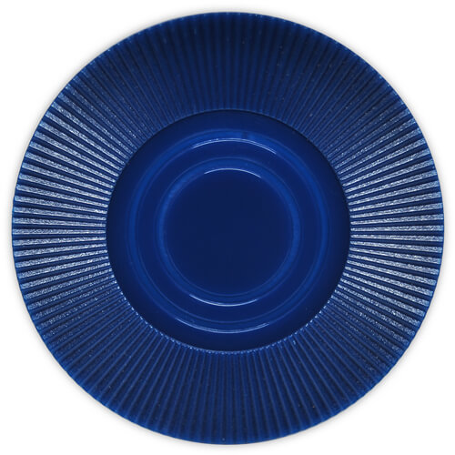 Radial Interlocking - D. Blue Plastic Poker Chips