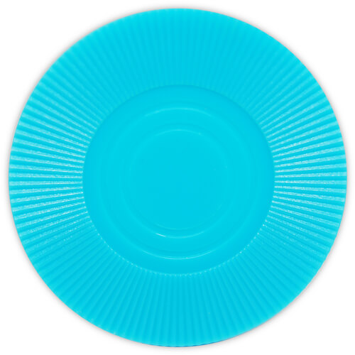 Radial Interlocking - Blue Plastic Poker Chips