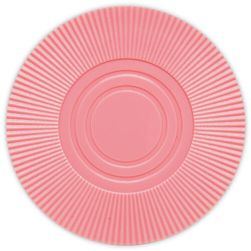 Radial Interlocking - Pink Plastic Poker Chips