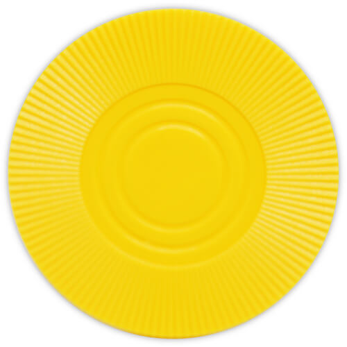 Radial Interlocking - Yellow Plastic Poker Chips
