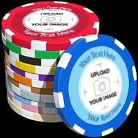 8-Stripe Custom Poker Chips