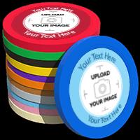 Solid Custom Poker Chips