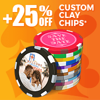 +25% Off Custom Clay Chips