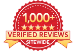 1000+ verified reviews